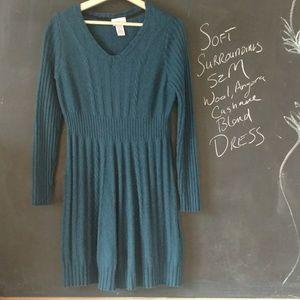 Soft Surroundings Sweater Dress Sz M